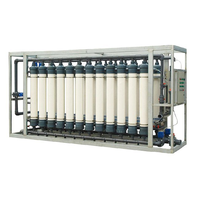 UF Hollow Fiber Membrane Mineral  Water Treatment System