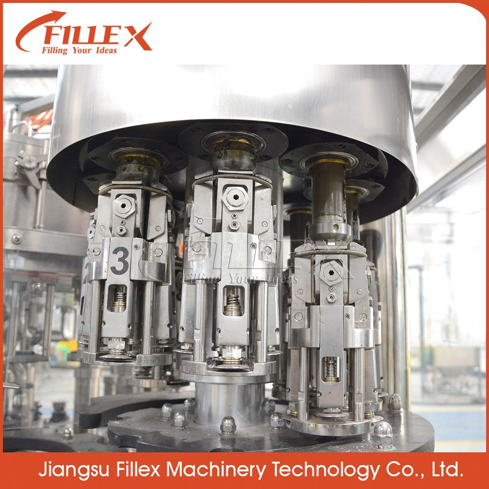 Good Quality Automatic Glass Bottle Carbonated Soft Drink Filling Machine with Best Service