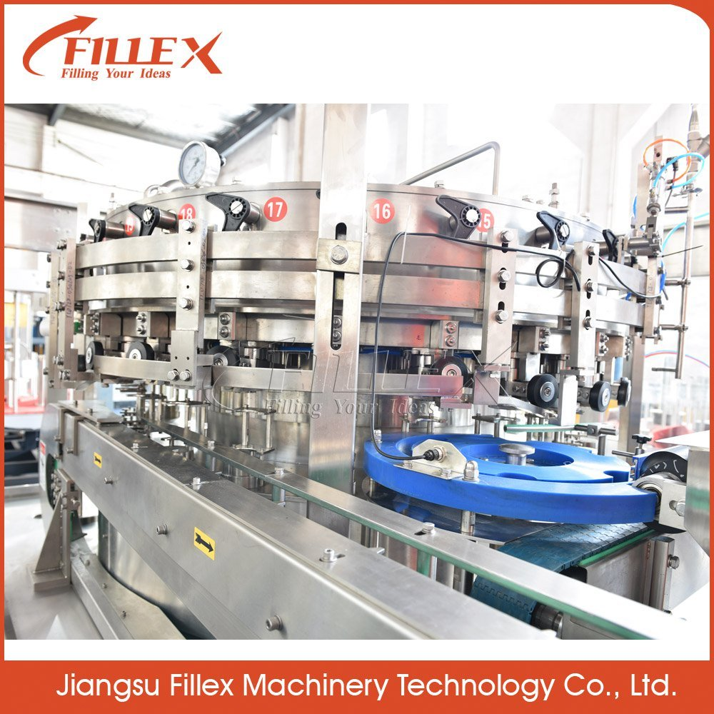 Factory Price Automatic Carbonated Beverage Pop Can/Aluminum Can/Pet Can Filling Machine