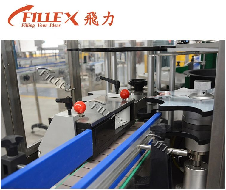 High Quality Automatic Linear Type Hot Melt Glue Labeling Machine